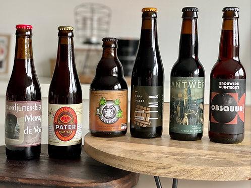 Lokaal & Donker!  bierpakket 6x2 (12stuks)