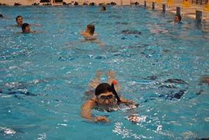 Conditie zwemmen bij OSCD