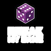 Break My Game Vertical Logo - White