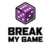 Break My Game Vertical Logo