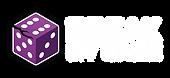 Break My Game Horizontal Logo - White