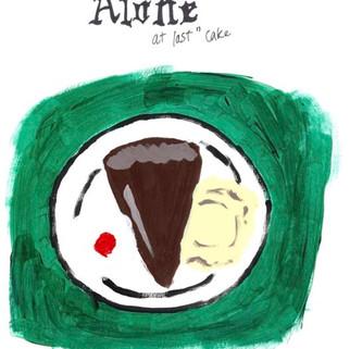 """Alone at Last"" Cake"
