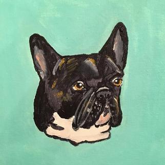 """Otis, the Frenchy"" portrait"