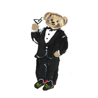 """The Dapper Polo Bear"""