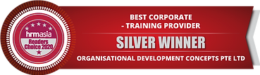 ODC 2021 HRM Silver Winner for Corporate Training