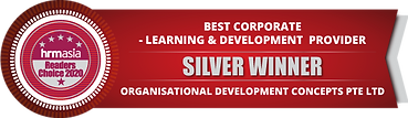 ODC 2021 HRM Silver Winner for Learning & Development