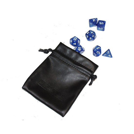 Dice and Dice Bag