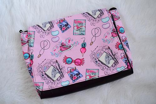Pink Luna Paperboy Messenger