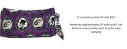 Coraline Essentials Wristlet