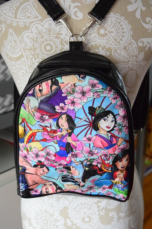 Warrior Princess Mini Backpack