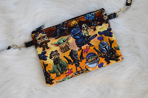 Space Western Lily Crossbody Bag