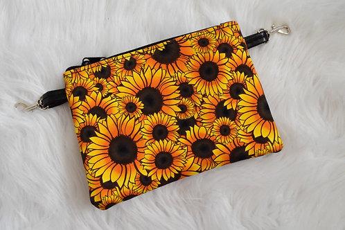 Sunflowers Lily Crossbody Bag