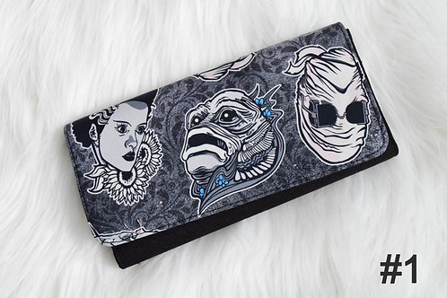 Grayscale Monsters Wendy Wallet