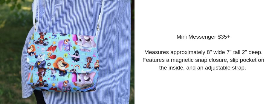 Mini Messenger Crossbody