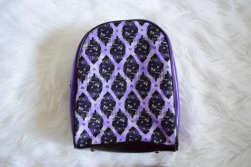 Purple Snakes Mini Backpack