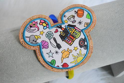 Magical Doodles Slider Headband: Rainbow HOUSE