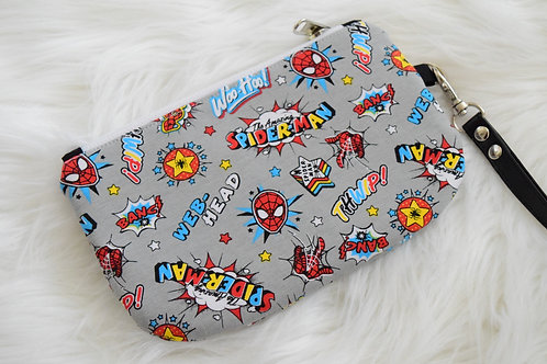 Spidey Hero Mini Wristlet