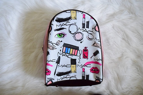Pink Makeup Mini Backpack