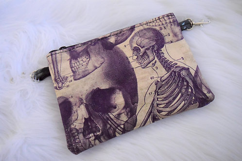 Skull Anatomy Lily Crossbody Bag