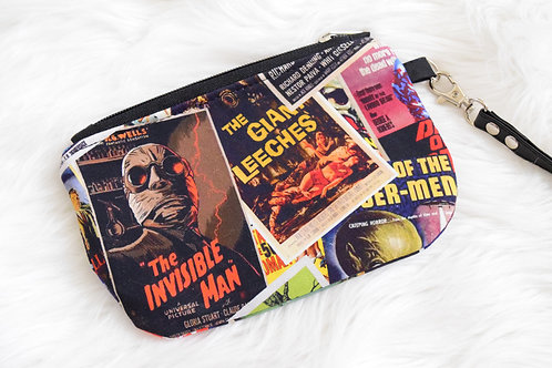 Old Horror Posters: Invisibe Man Mini Wristlet