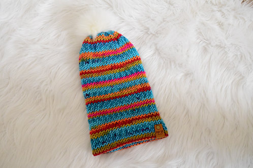 Slouchy Beanie: Multi-color