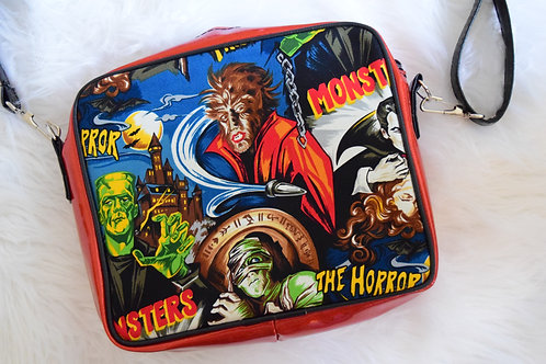 Red Glitter Universal Monsters Madyson Crossbody