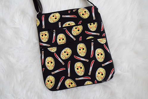 Friday Slasher Triple Zip Crossbody