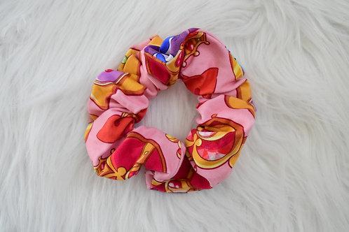 Pink Sailor Scrunchie