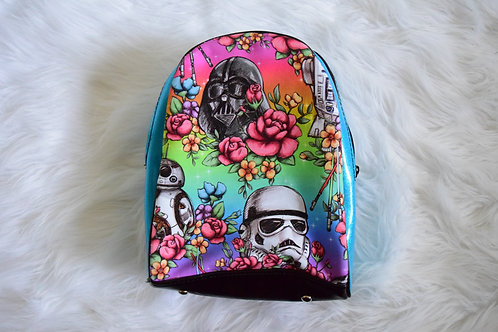 Floral Wars Mini Backpack
