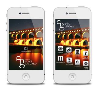 Application Pont du Gard