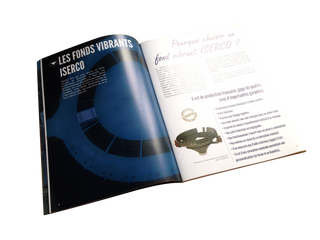 Mise en page, wording et picto du catalogue ISERCO