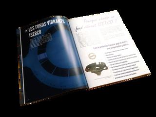 Mise en page, wording et picto du catalogue ISERCO