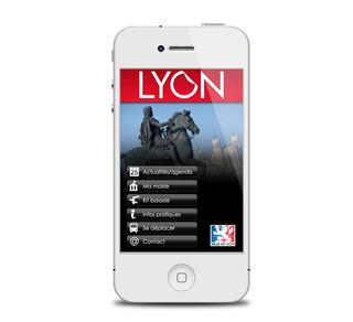 Application ville de Lyon