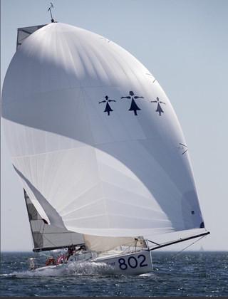 décor de bateau (ici celui de Charlotte Mery sur la mini transat)