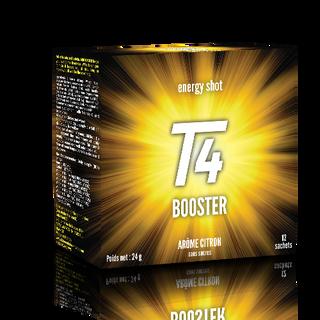 création de l'étui du produit Booster se rattachant à la gamme T4.