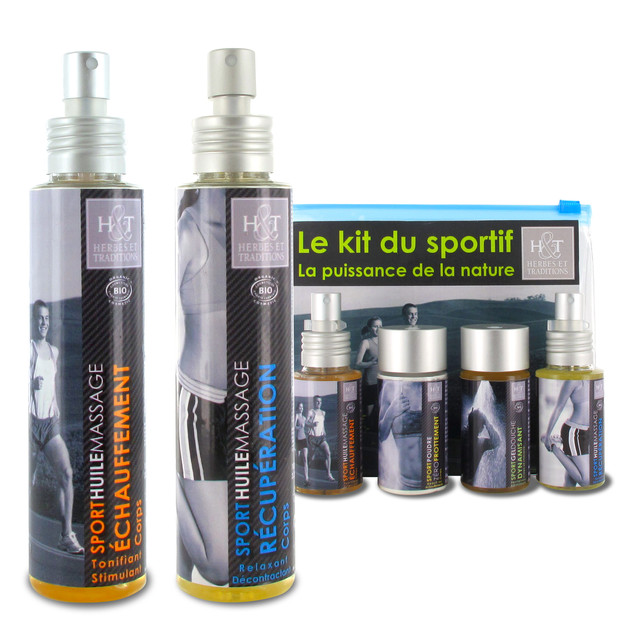 Création de la gamme de produits sport et kit de voyage