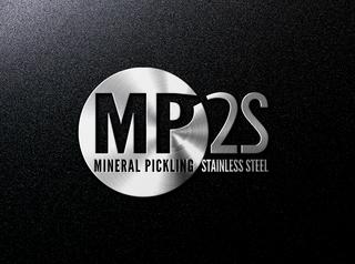 Conception du logo et de la charte graphique MP2S. Représentation de la symbolique du nettoyage haute pression à base de minéraux