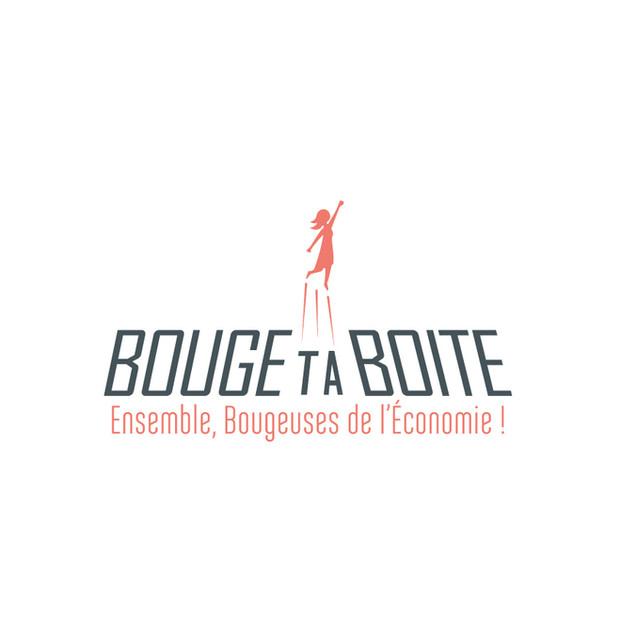 IDENTITÉ DE MARQUE & GRAPHISME : Bouge ta Boite, réseau business pour les entrepreneurEs