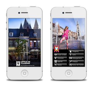 Application Office de Tourisme de Tournai (BE)