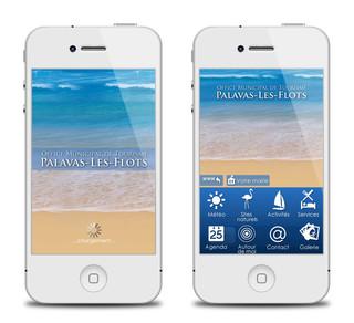 Application Office de Tourisme Palavas-Les-Flots