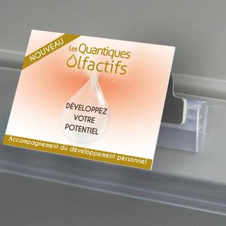 Création de stop rayons pour la mise en avant des produits en linéaires