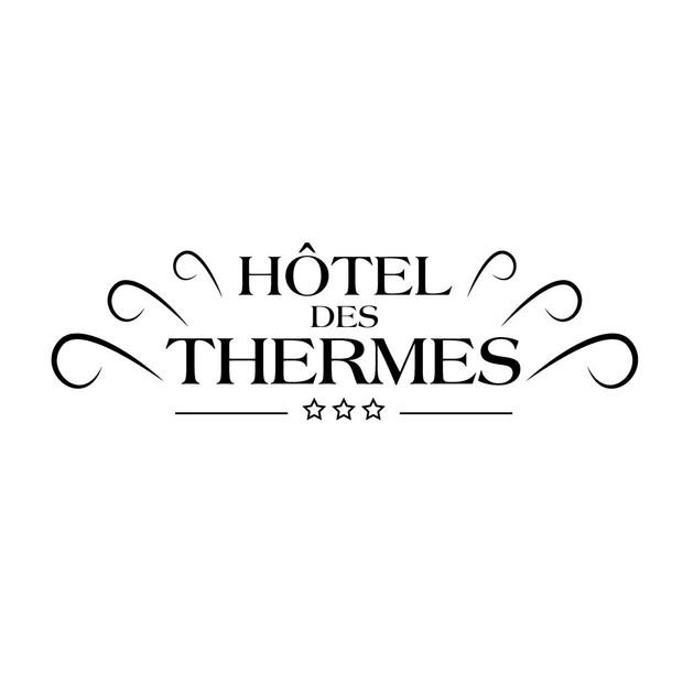 IDENTITÉ DE MARQUE & GRAPHISME : Hôtel des Thermes