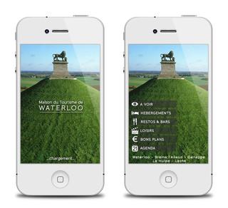 Application Maison de Tourisme Waterloo (BE)