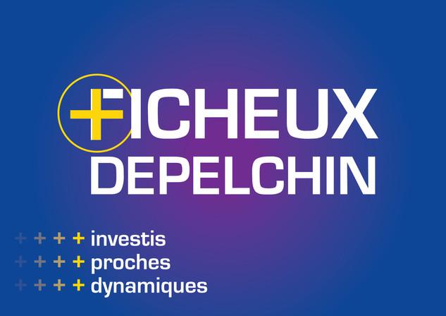 Développement de l'identité FICHEUX / DEPELCHIN pour les élections législatives 2017.