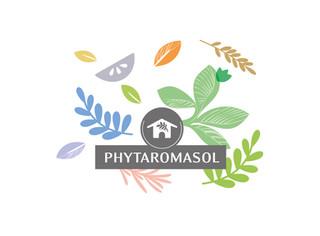Briefs : Création de supports de com et montages de photos d'ambiance et de présentation des produits pour Phytaromasol, parfums d'ambiance naturels