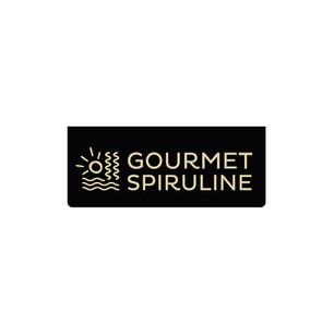 GRAPHISME : Gourmet Spiruline : compléments alimentaires à base d'algues.