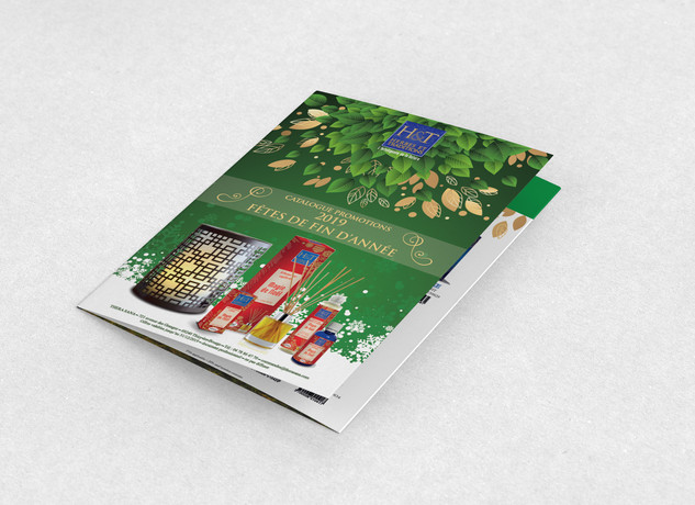 Création des brochures, dépliants, voeux et autres supports pour les fêtes de fin d'année
