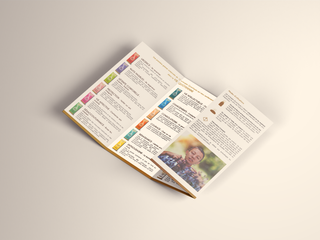 Création de leaflets et flyers de présentation des produits
