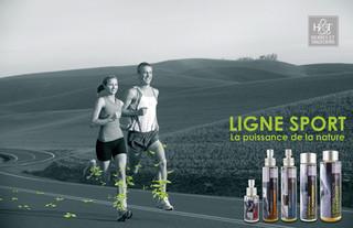Création de la gamme Sport et des supports de com.