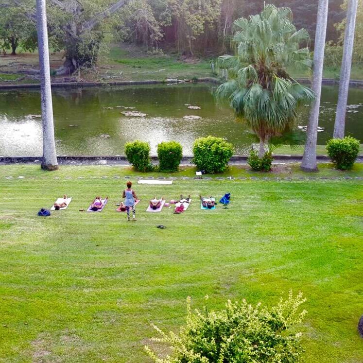 Codrington College Yoga